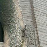 Yesería principal antes de la primera restauración