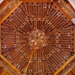 Salón Rico o de Don Diego, primera restauración