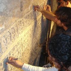 Restauración de yesería, Salón Rico