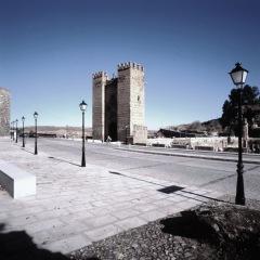 Ordenación de las Riberas del Tajo, Puente de Alcántara